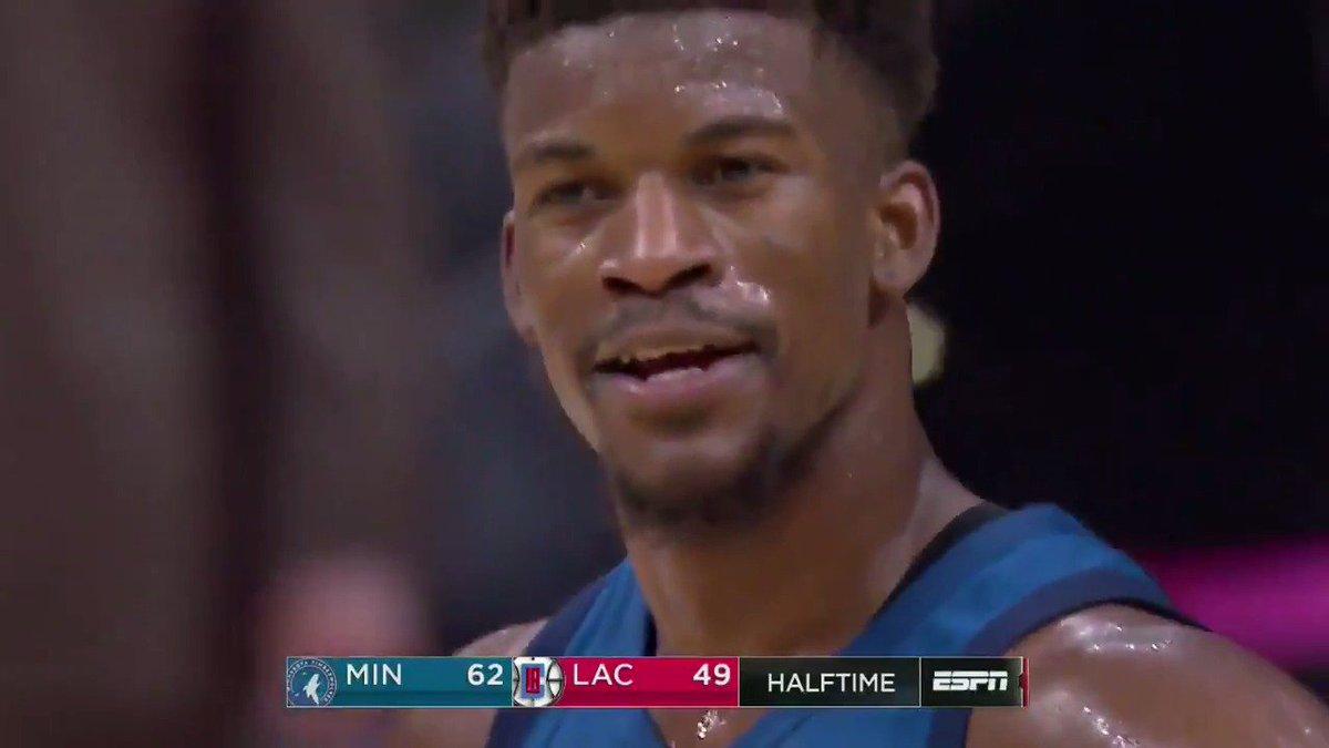 Jimmy's reaction to Taj's full-court heave 😂😂😂