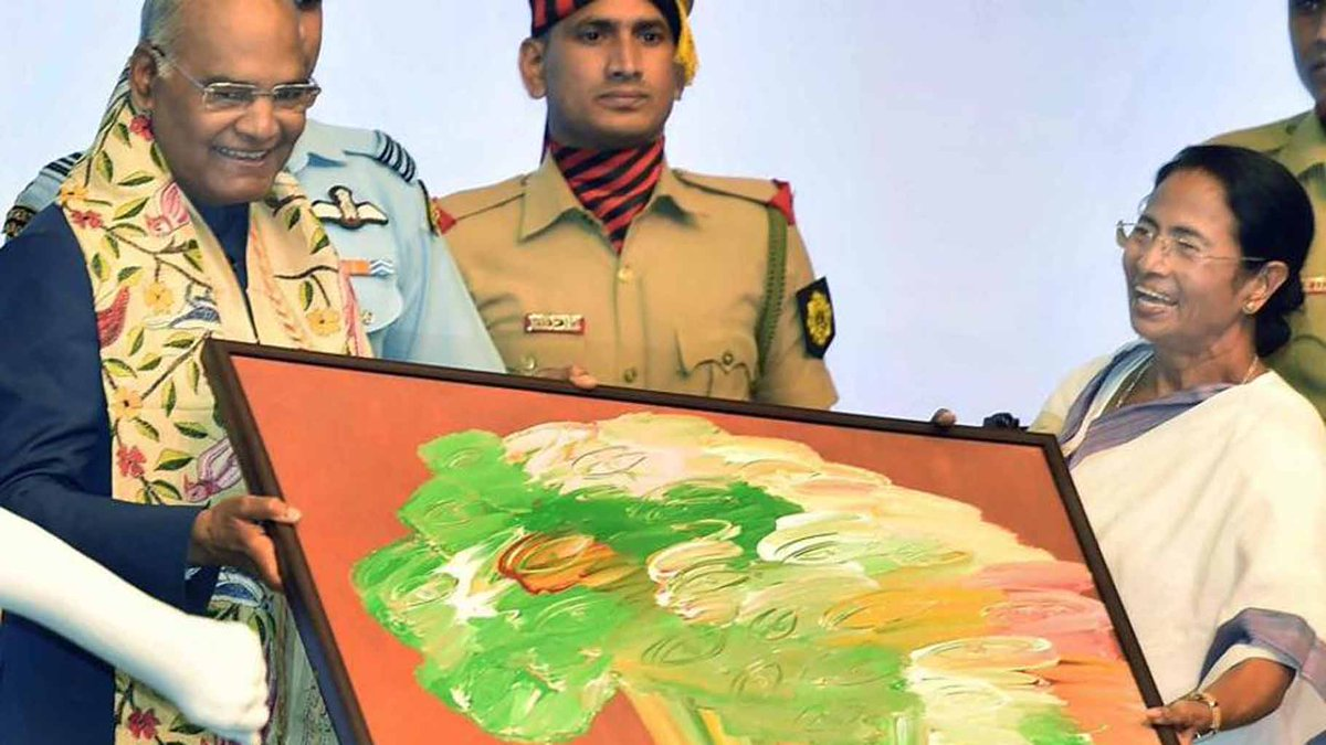 How a painting brought #MamataBanerjee and #RamNathKovind closer | Romia Datta | https://t.co/ltOI3uOx1V