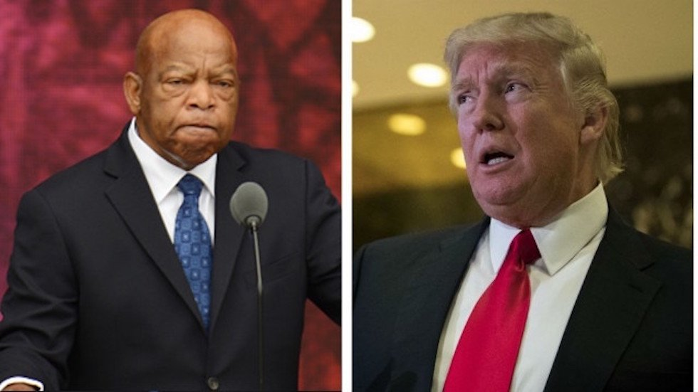 John Lewis: Trump's presence at civil rights museum openings would 'make a mockery' of civil rights movement https://t.co/6tVgHCJ1CP