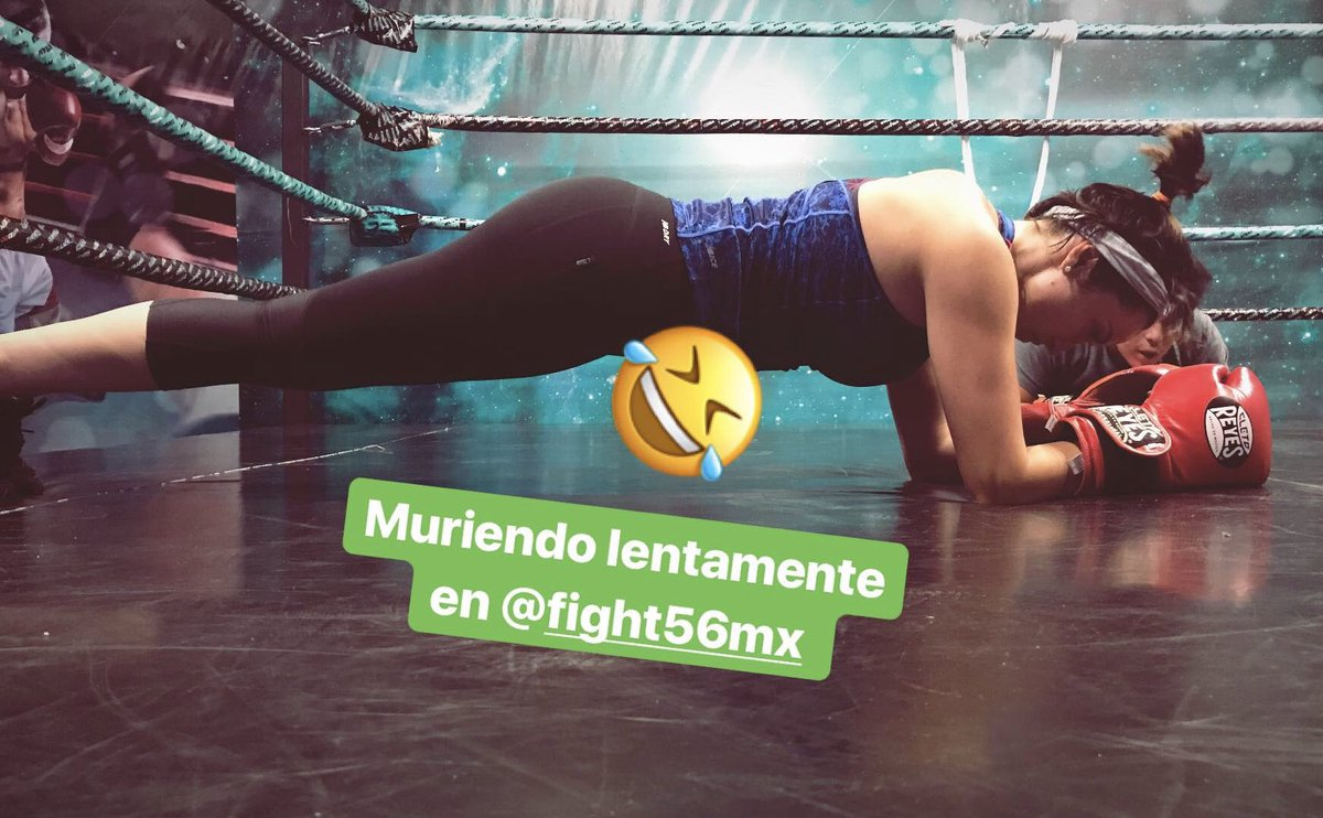 Muriendo lentamente en @fight56mx ????????