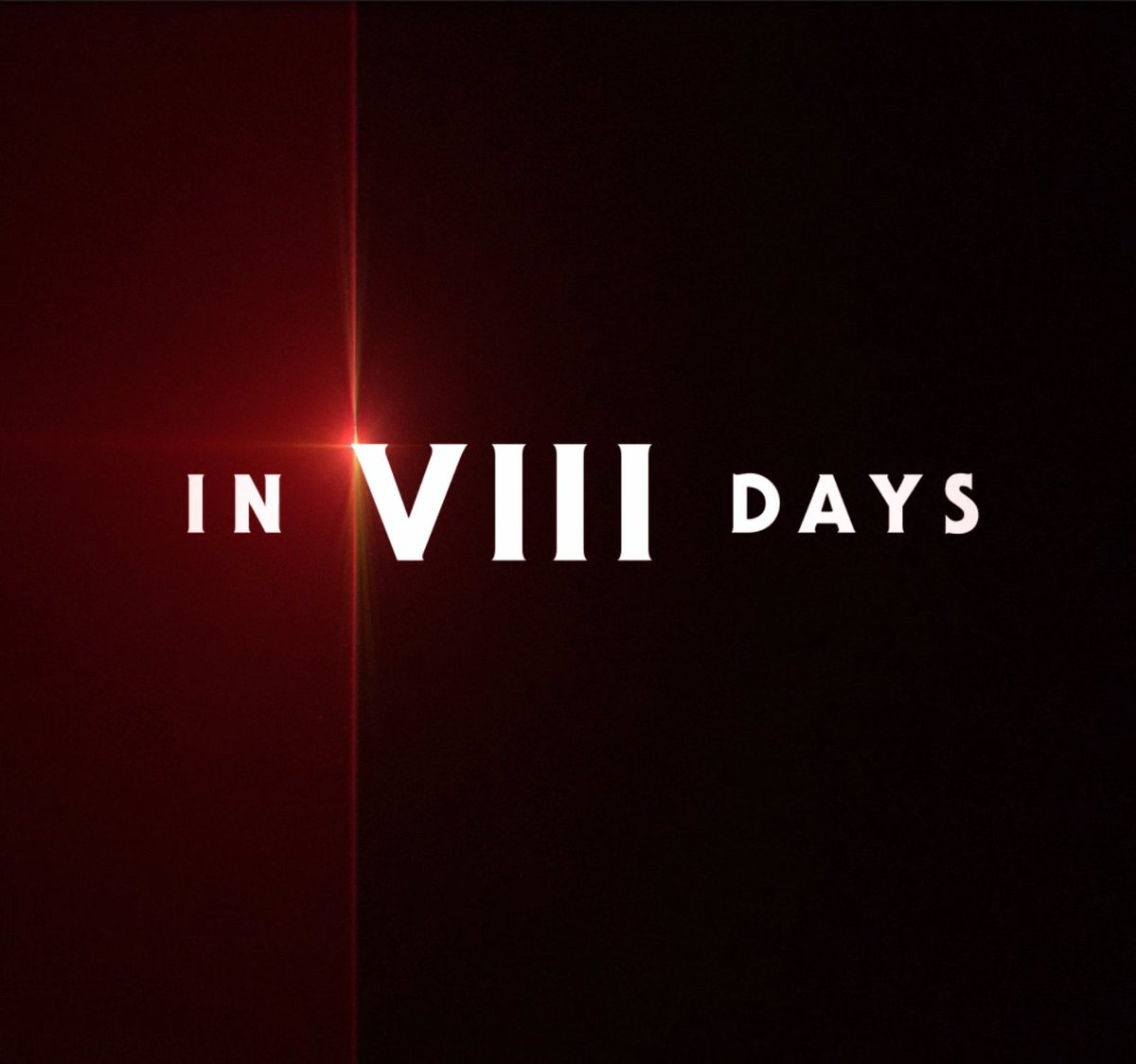 In VIII days, see Star Wars: #TheLastJedi.  Get tickets now: https://t.co/6vE5KUSv1f