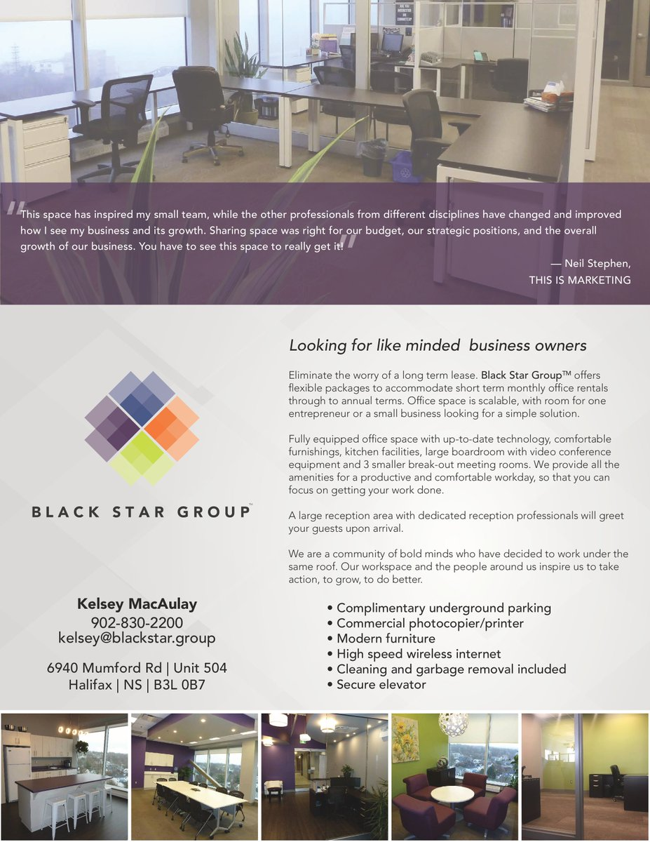Black Star Group On Twitter We Have Office Space Available For Rent Whether You Are Looking For A Short Or Long Term Option We Have A Scalable Work Space For One Entrepreneur