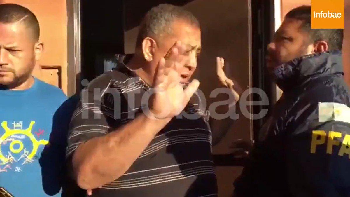 AHORA | Así fue la detención de Luis D'Elía  https://t.co/0ols6QiIil