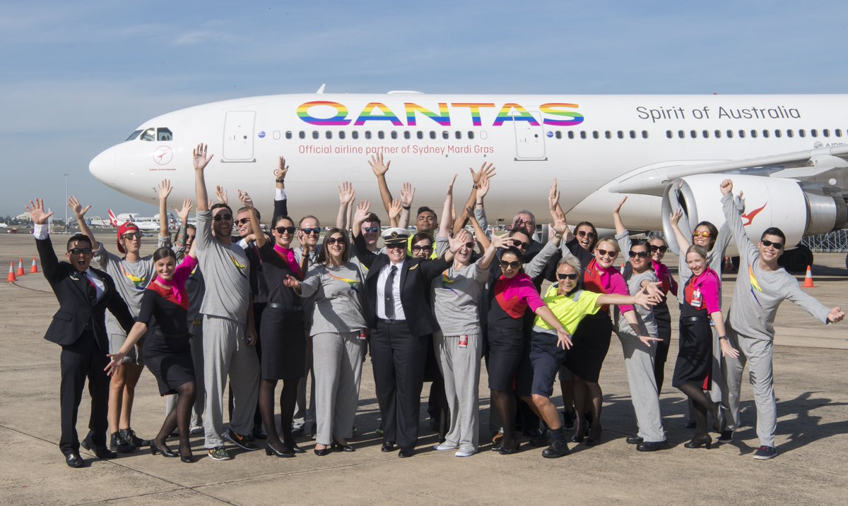 RT @Qantas: Now it's official 🌈 #marriageequality https://t.co/4QeQf8CMeB