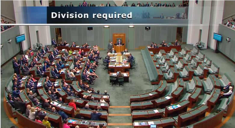 It's a lonely, lonely place, the wrong side of history. #marriageequality