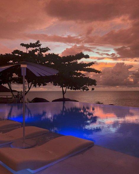 @JesintaCampbell and @Buddy_Franklin #romantic #Thai #getaway amazing sunset! at #KataRocks &gt;  http:// ow.ly/kpQm30gLCRz  &nbsp;  <br>http://pic.twitter.com/WiHKZMYChn