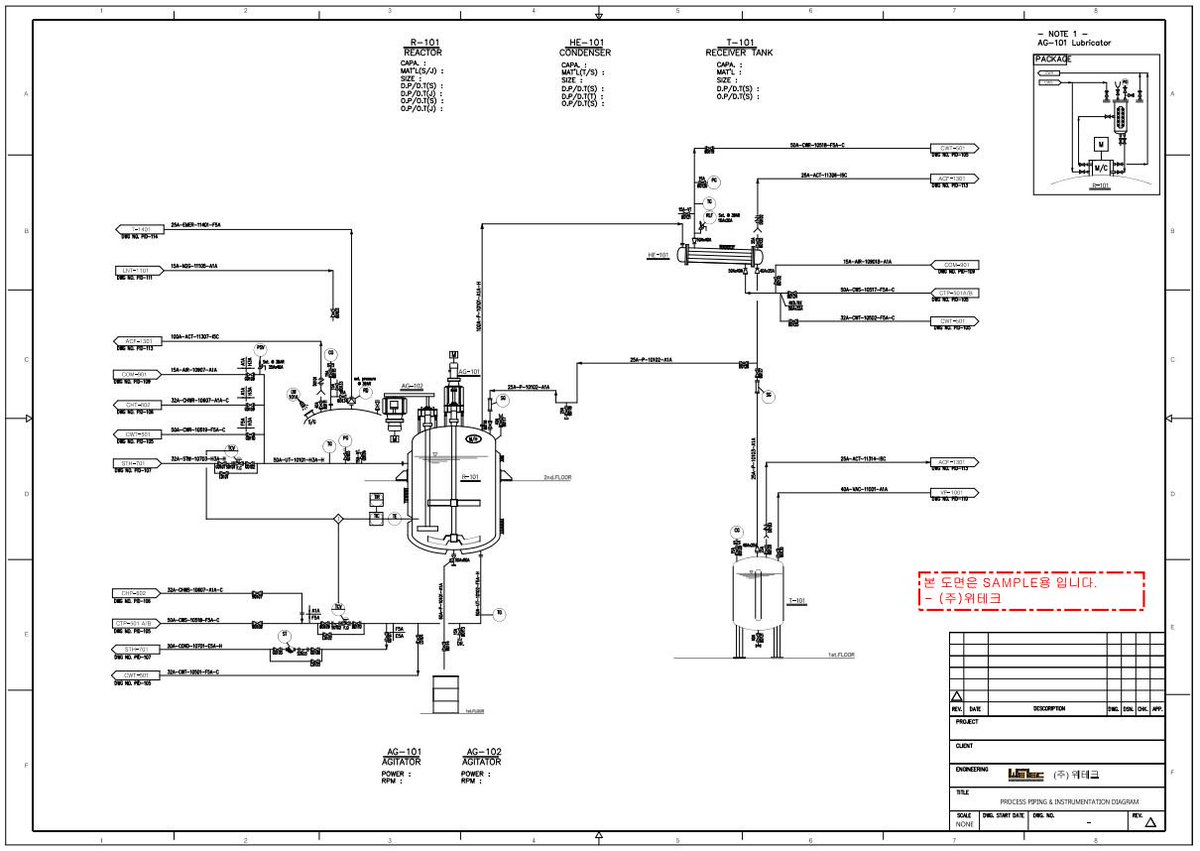 Wetec Coltd On Twitter This Is The Sample Of Pid Piping Instrumentation Diagram 1136 Pm 6 Dec 2017