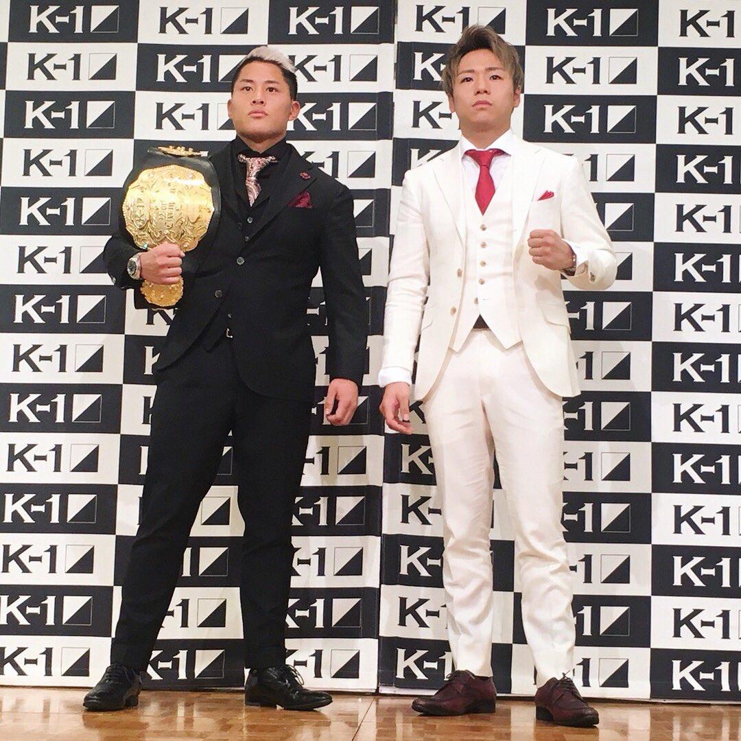2018年3月21日K-1 WORLD GP「K' FESTA.1」にて スーパーフェザー級…