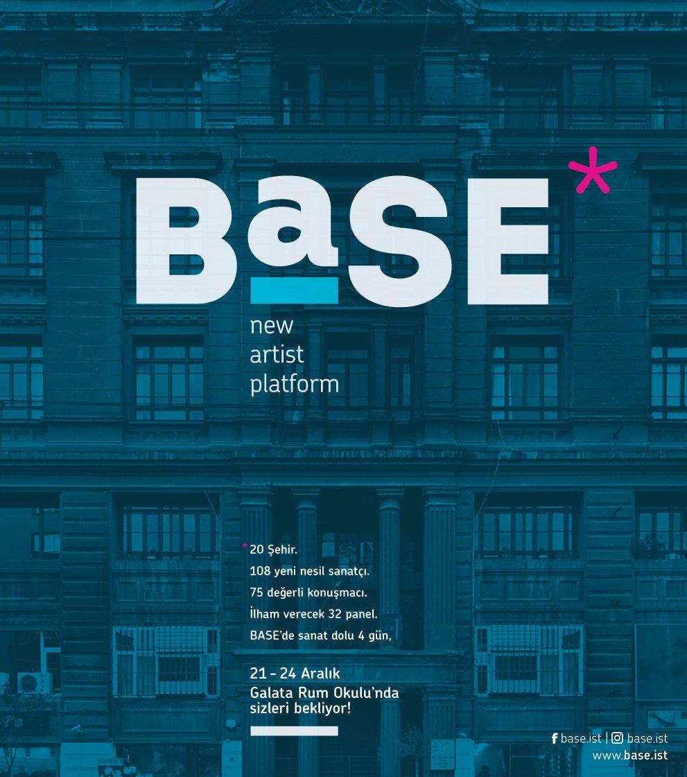 BASE sergisi, 21-24 Aralık'ta Galata Rum Okulu'nda sanatseverlerle buluşuyor!