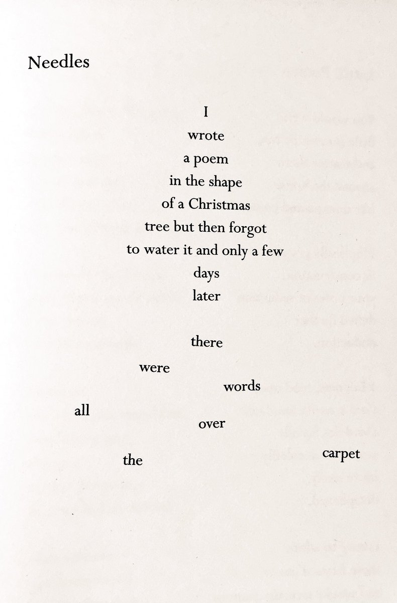Brian Bilston On Twitter Heres A Poem In The Shape Of A Christmas