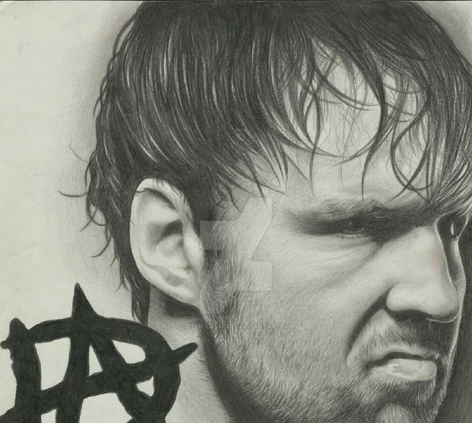 Happy Birthday To The Youngest Grand Slam Champion The Lunatic Ambrose  Dean Ambrose