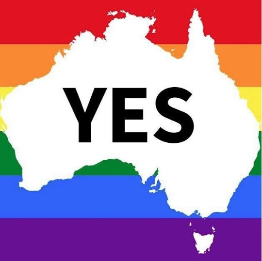 🌈 BREAKING 🌈 : SAME SEX MARRIAGE PASSES AS LAW IN AUSTRALIA.   The Australian parliament has just passed the historic law, officially becoming the 26th country to do so following the countries 61.6% YES vote last month.  https://t.co/rRkQP58asv  #YES