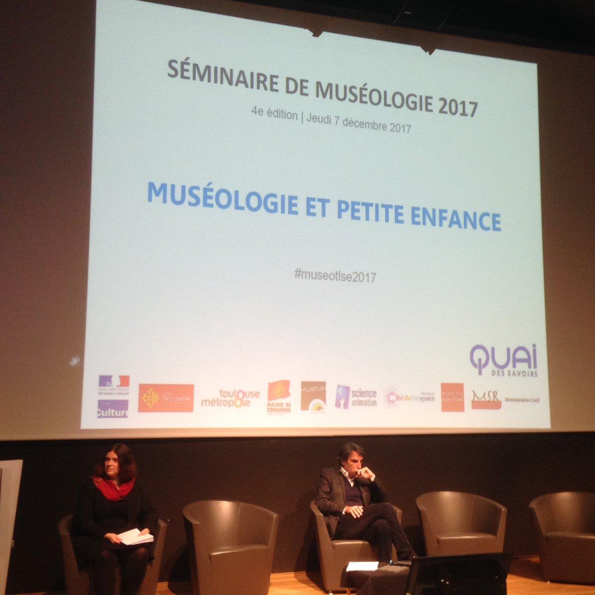 Début du séminaire de muséologie 2017. Au programme cette année : la petite enfance. Suivez le  #museotlse2017 ! pic.twitter.com/prhUbU4l3R
