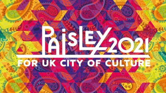 Good luck to @Paisley2021 ahead of today's #CityofCulture2021 announcement. #Paisley2021 https://t.co/C5rn8XcTlr
