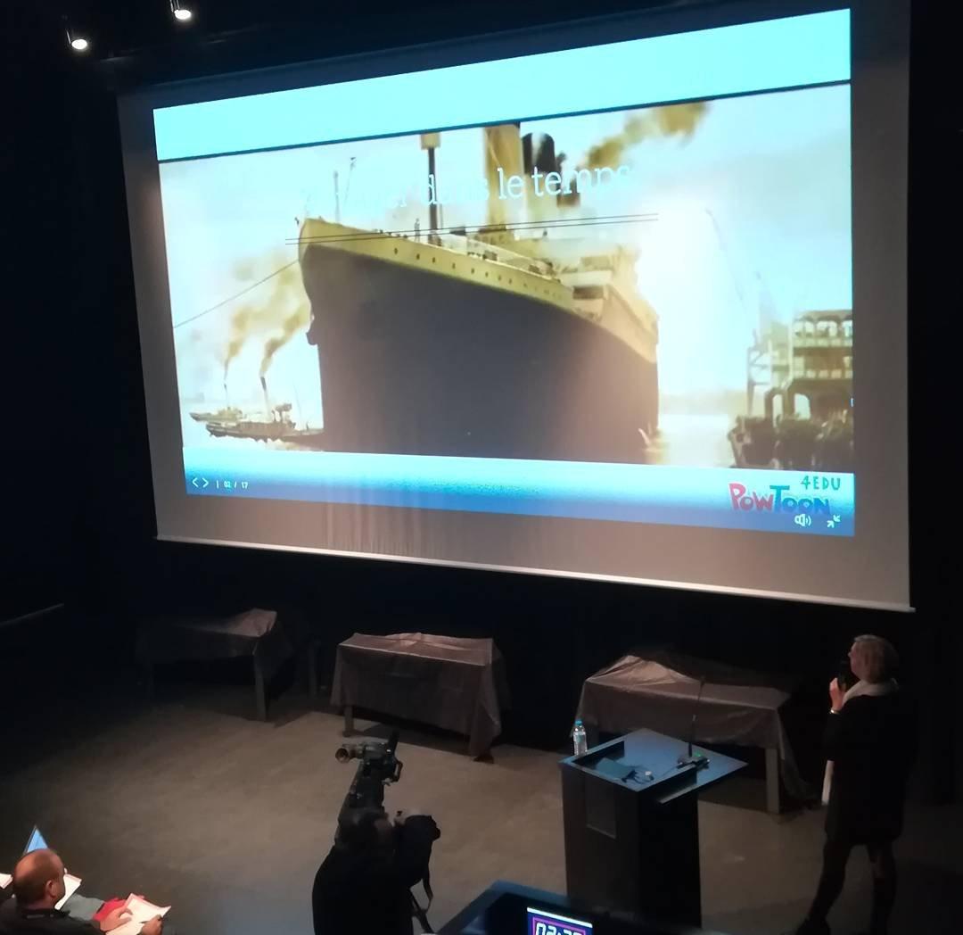 """""""Titanic Unplugged"""" s'intéresse à l'histoire du paquebot et plonge les élèves dans une série d'énigmes et de défis pédagogiques. #SEG2017  pic.twitter.com/rlUkmcra0g"""