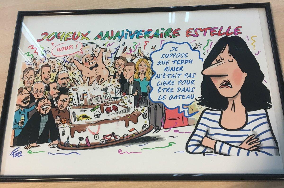 Faro Dessinateur On Twitter Un Tres Joyeux Anniversaire Estelle