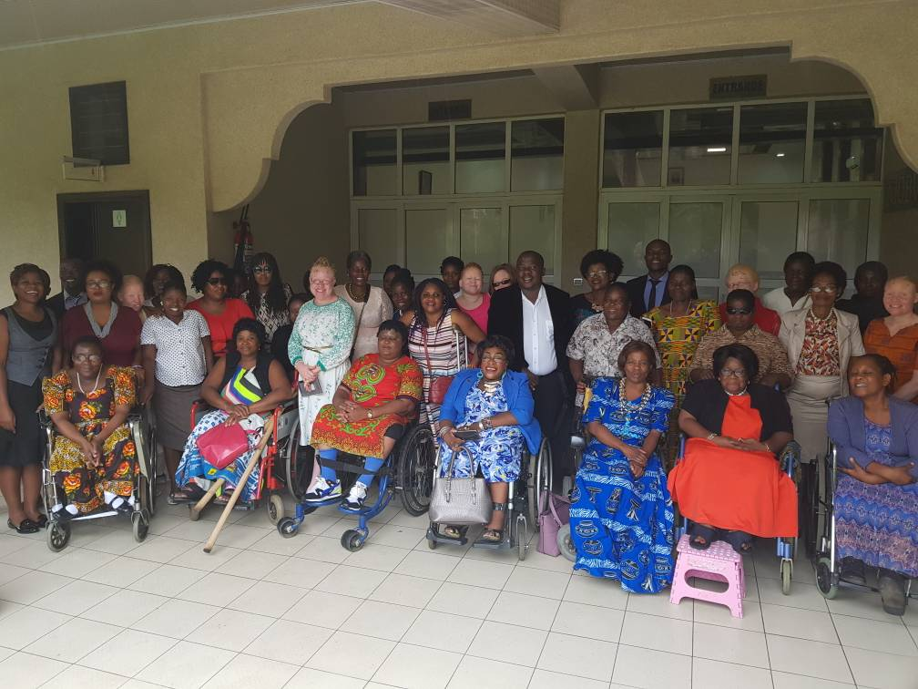 UN Women&#39;s Malawi first ever interface on violence of women with various Disabilities. Opened by Hon. Richard Chimwendo and Disability Dept. Thank you @anyangwe4 for your vision in Leaving No One Behind. #16DaysofActivism2017  #Intersectionality @CapitalFMMw  @unwomenafrica<br>http://pic.twitter.com/EPDjiE6eii