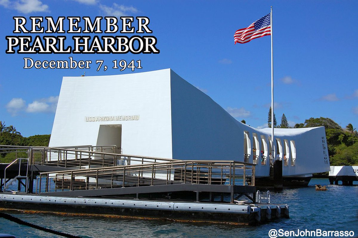 We remember and honor those who lost their lives on this date 76 years ago.  #PearlHarbor76