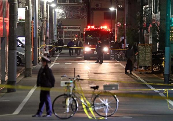刃物で切り付け、富岡八幡宮付近で男女4人死傷 神社関係者トラブルか、重体の人も…現場に日本刀とサバイ…