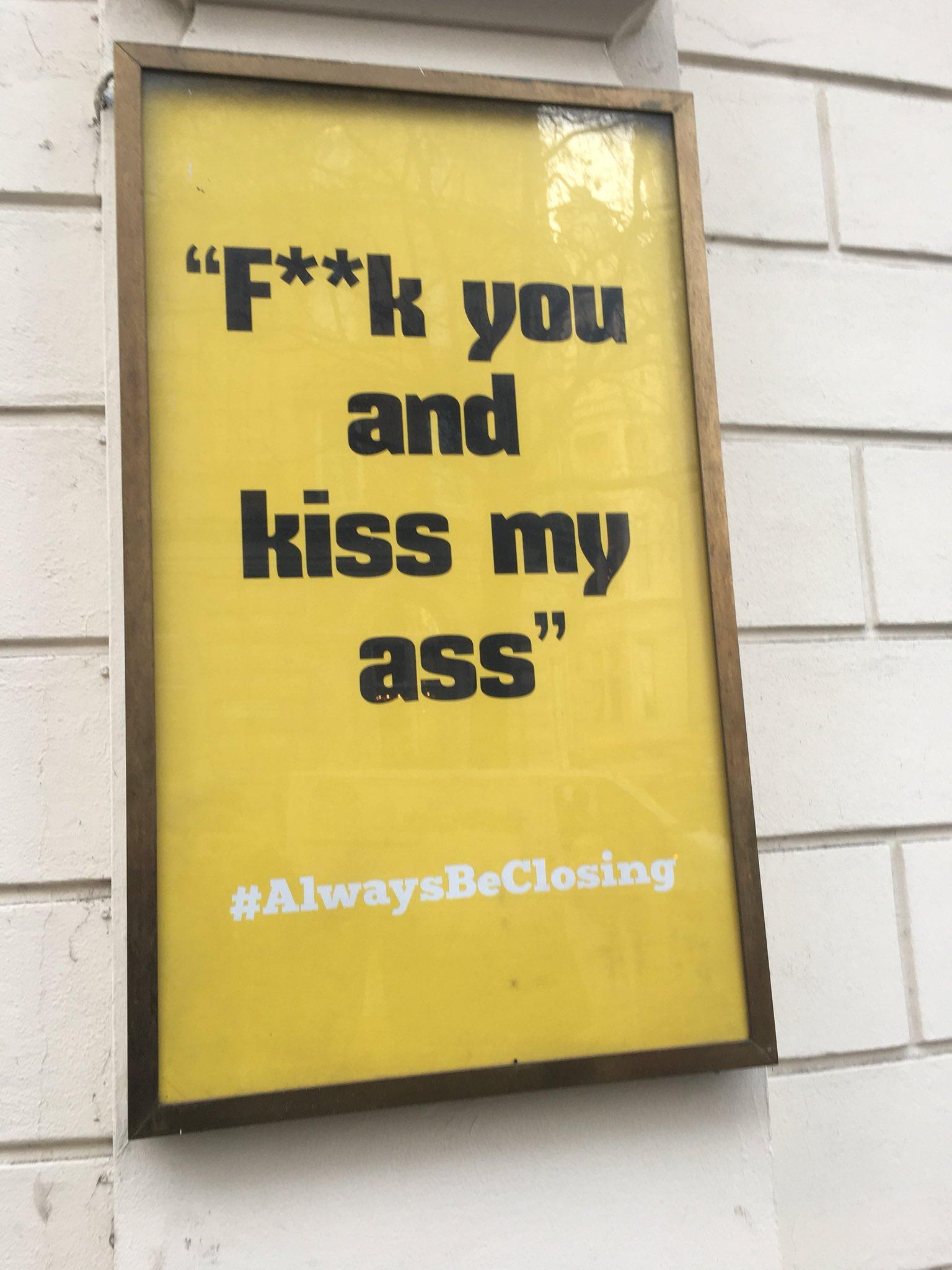 'Glengarry Glen Ross' sounds like my kinda play! https://t.co/TBpsSQSQak