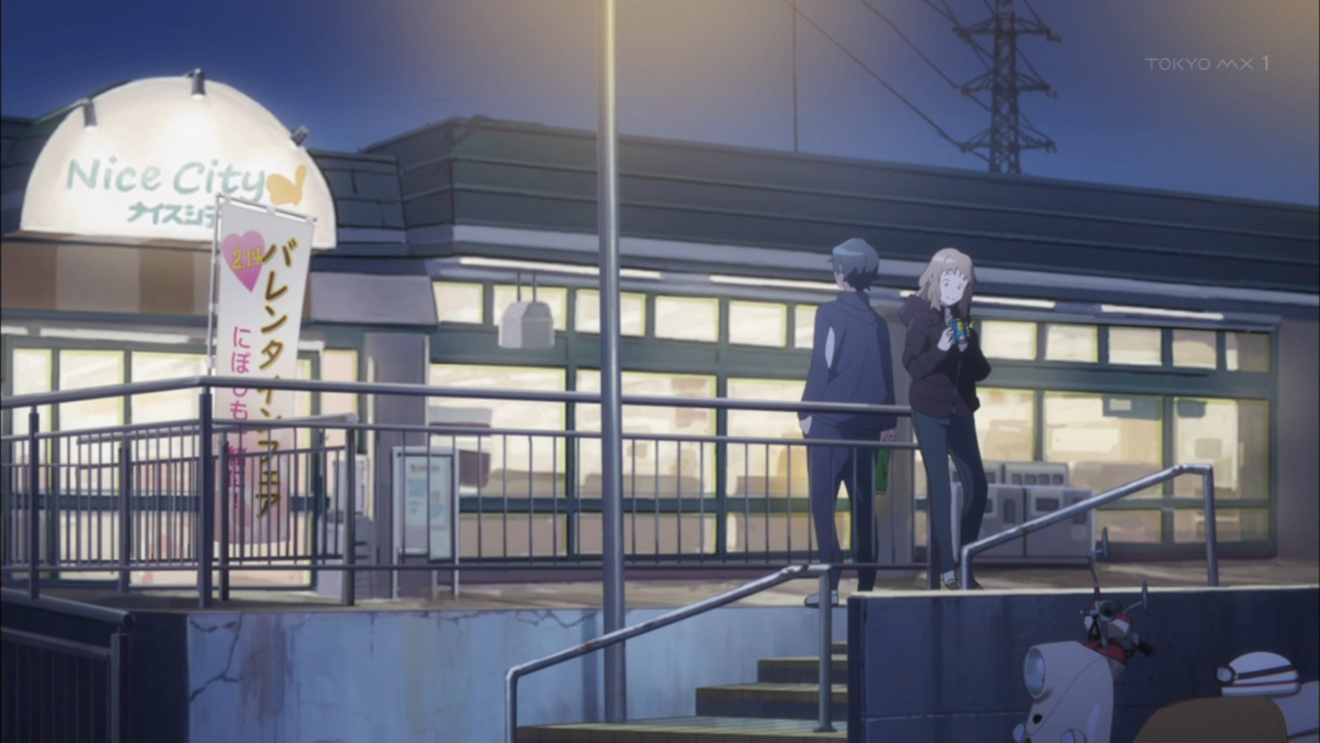 バレンタインフェア←わかる にぼしも一緒に!←???? #JB_anime https://t.co/ueOrx804ls