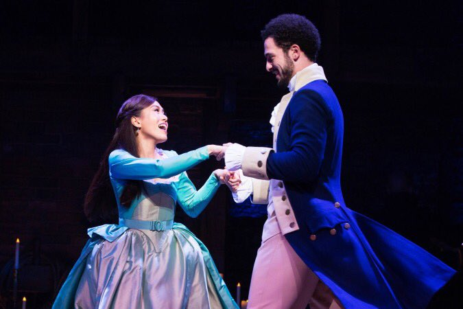 There are 3 Filipino actresses playing lead roles in musicals on #Broadway AND the #WestEnd TODAY! Imagine them singing the Schuyler Sisters together!  @gorachelleann in @HamiltonWestEnd in London,  @EvaNoblezada in @MissSaigonUS and the legend @MsLeaSalonga in @OnceIslandBway<br>http://pic.twitter.com/Gn8LLdv9ee