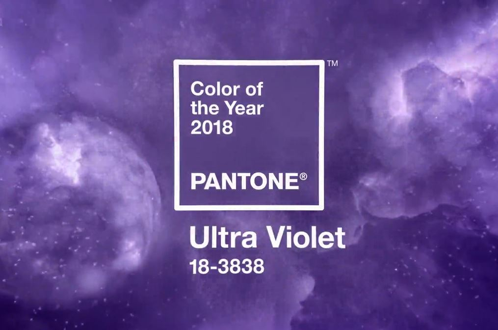 PANTONE names 'Ultra Violet' as 2018 'Color of the year' https://t.co/2rra30x4CY