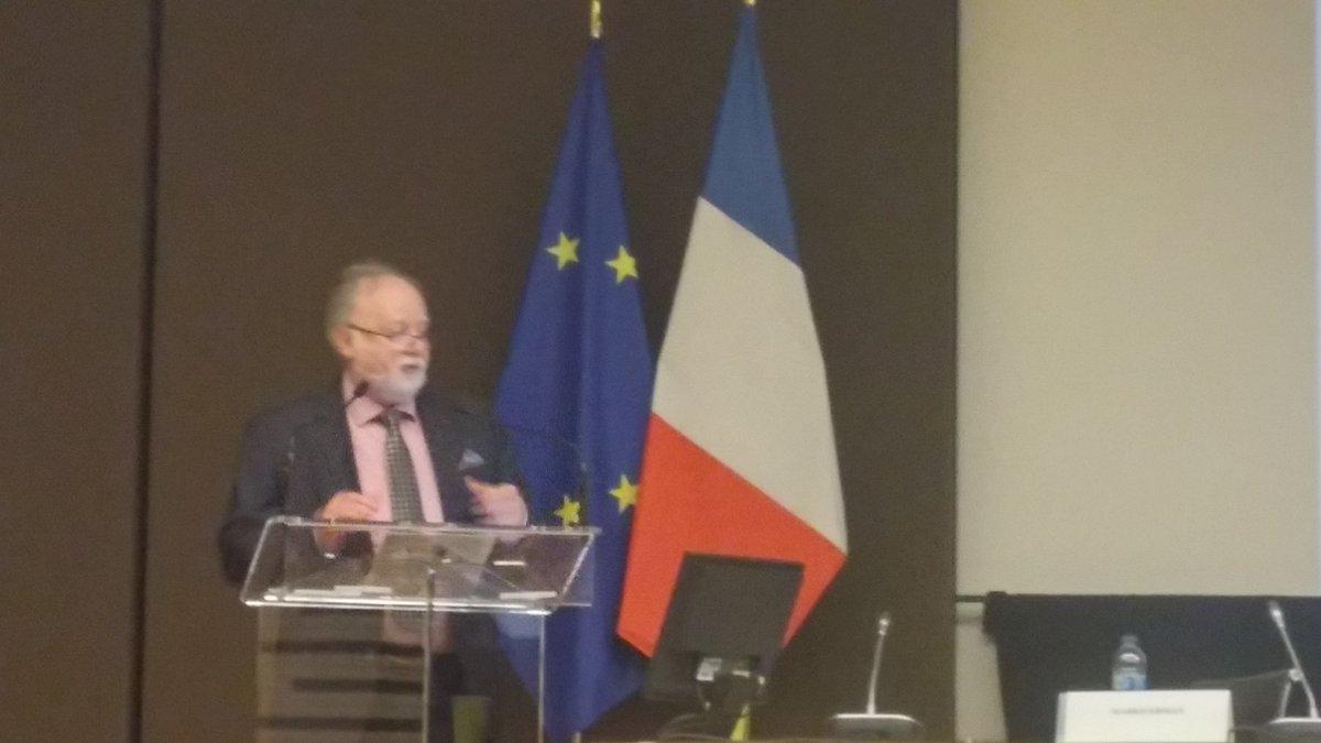 Marko Ernam CTO #Thales Les quatre #technologies essentielles du groupe @thalesgroup  #IOT #Bigdata #IA et #Cybersecurite  #GEEA pic.twitter.com/tFhsqztRrK