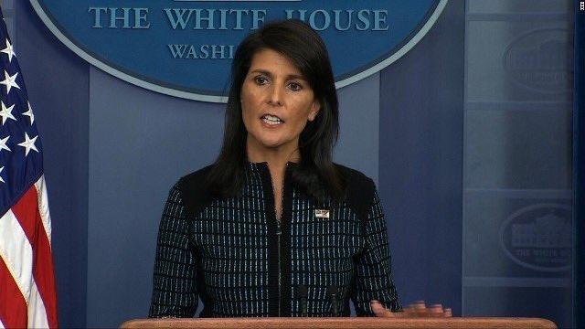 【米国連大使、の米国の五輪参加の可否は「未解決」との発言。朝鮮半島情勢受け】 「エルサレムであれ北朝…