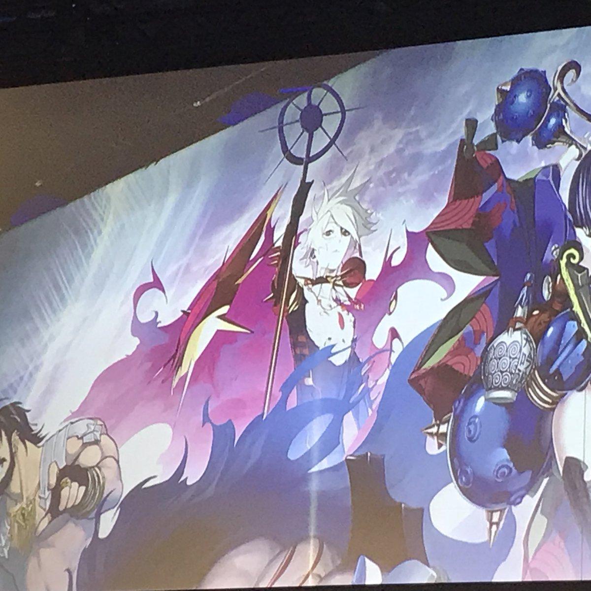 「FGO Arcade 発表会」 キービジュにカルナ!!!! #fgo