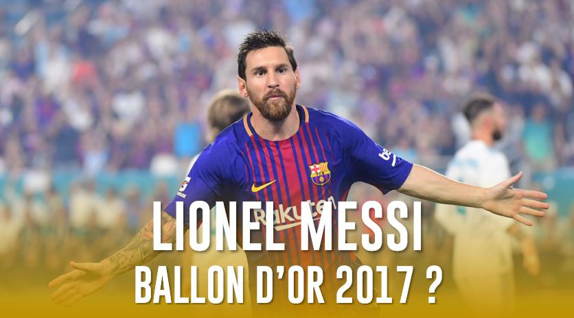 RT si vous pensez que Lionel Messi va remporter le  #BallondOr2017 ! pic.twitter.com/0vn7D4mzdV