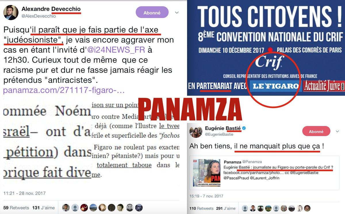 Le Figaro nie son judéosionisme mais passera son dimanche avec le Crif