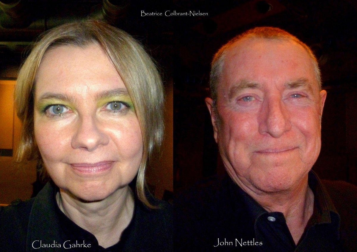 "BEATRICE COLBRANT on Twitter: ""German actress CLAUDIA ... John Nettles 2017"