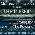 """Issue 23 of The Iceberg's Business Events World is out now with BESydney's """"The Power of Conferences"""" book, Positive Impact's """"Telling the Story..."""" report and the Global Destination Sustainability Index @BESydney @PIevents @GDS_Index #eventprofs: https://t.co/H57Uc63AAX"""