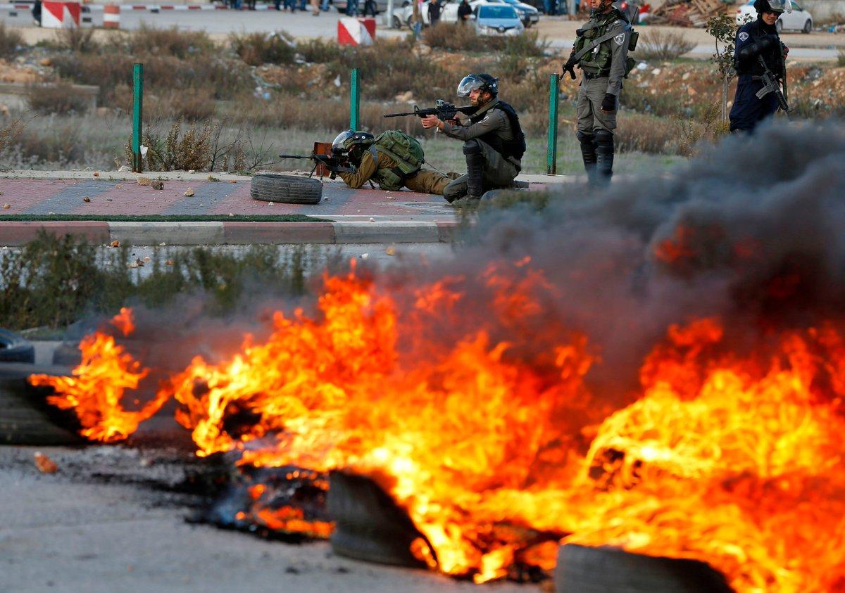 Столкновения в Палестине
