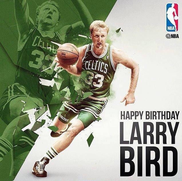 Happy - Larry Bird today is 61st Birthday!