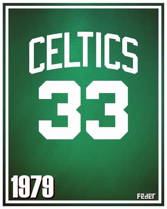 Happy birthday, legend! Larry Bird, Boston Celtics 1979 kit.