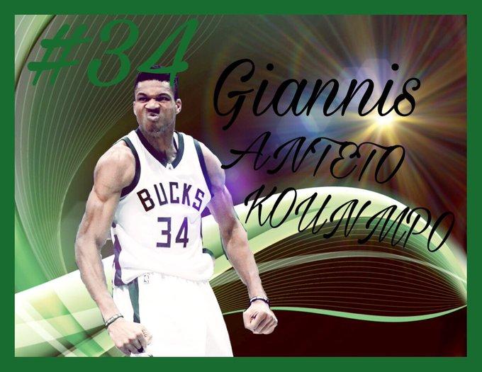 HAPPY BIRTHDAY  Giannis  ANTETOKOUNMPO