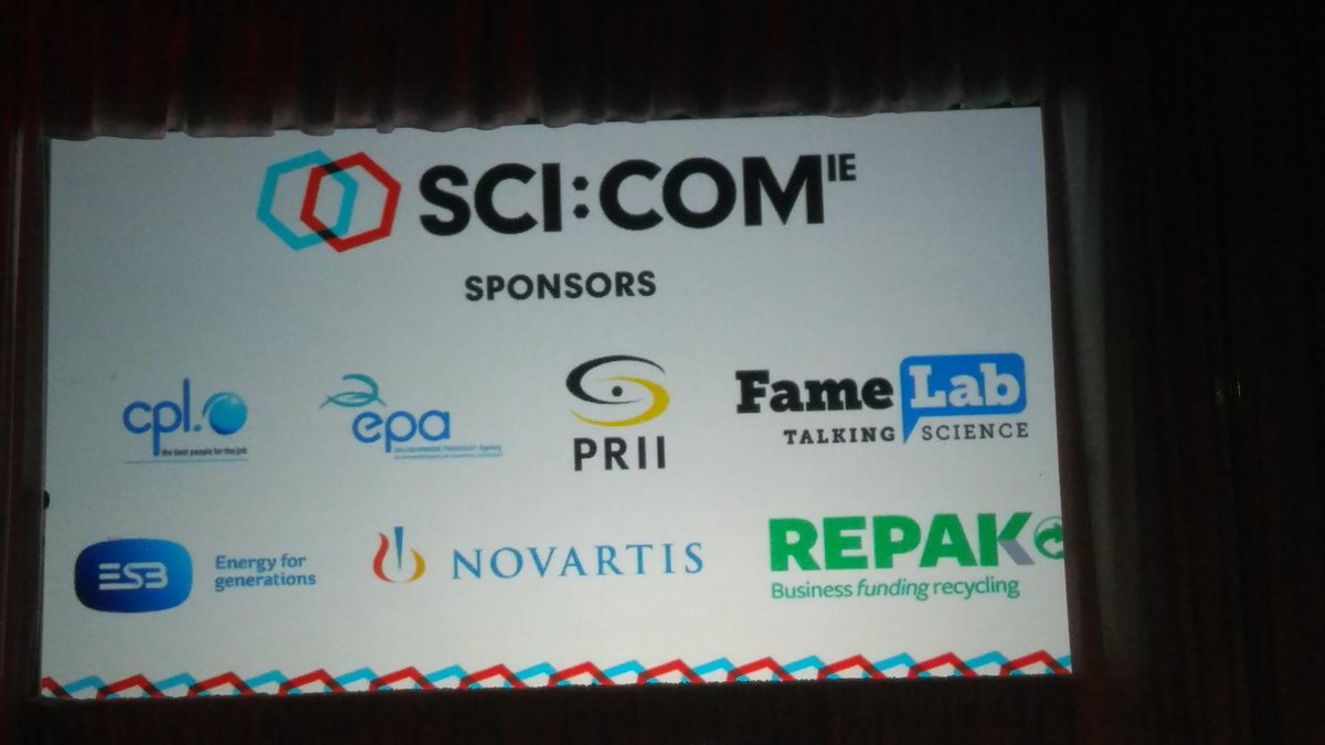 Great to meet with so many science commu...