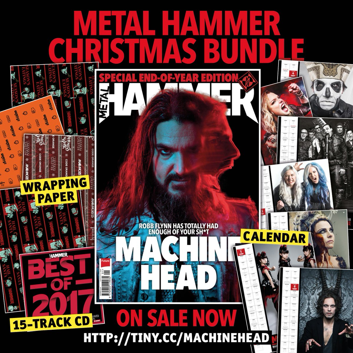 The Metal Hammer End Of Year Special. On sale now …