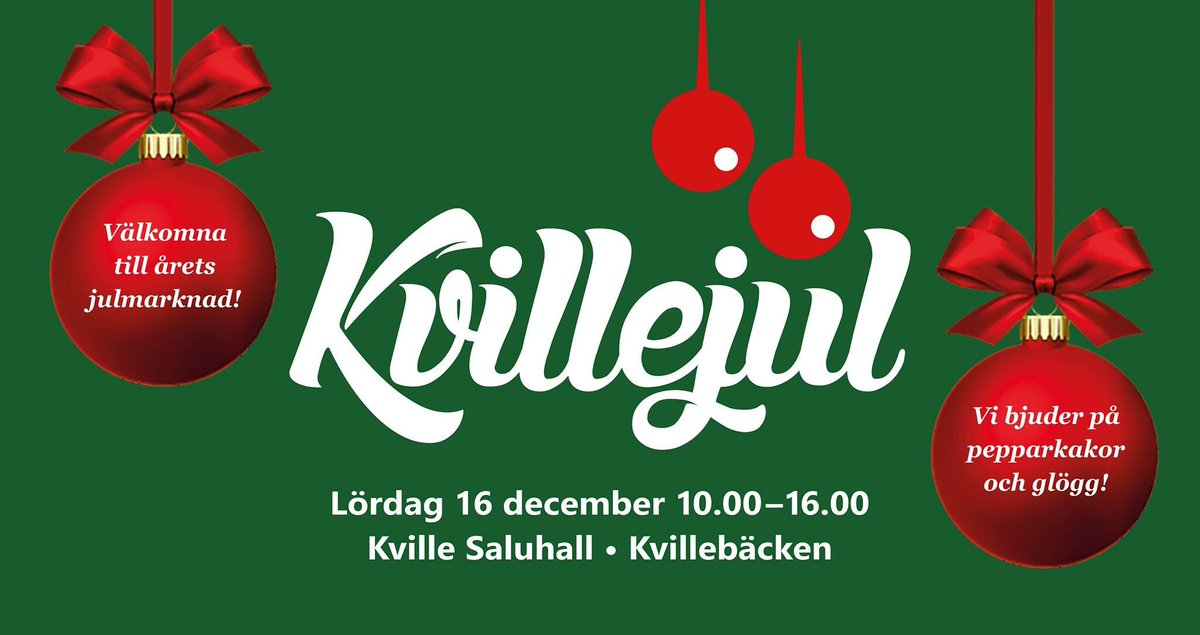 lvstaden on Twitter: Save the date! 16 december