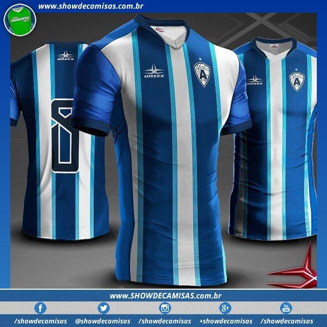 Veja as novas camisas que a  Uniex fez para o Atlético Cajazeirense   Atletico  Cajazeiras usar no Campeonato Paraibano em 2018. ... 4ff5fa85a90cd