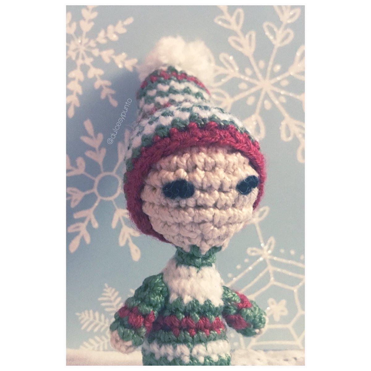 Patrón de amigurumi: Elfo de Navidad. Muñeco elfo en ganchillo | Etsy | 1200x1200
