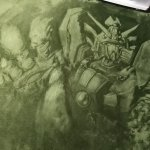 絨毯にシャイニングフィンガー描きました pic.twitter.com/bOI6UGCh1V