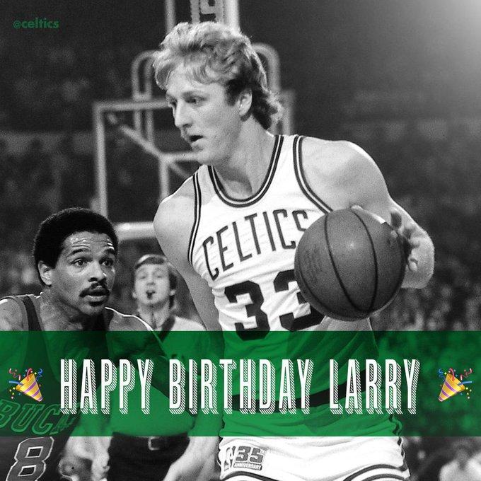 Happy Birthday Legend and 3x champ Larry Bird  3  3