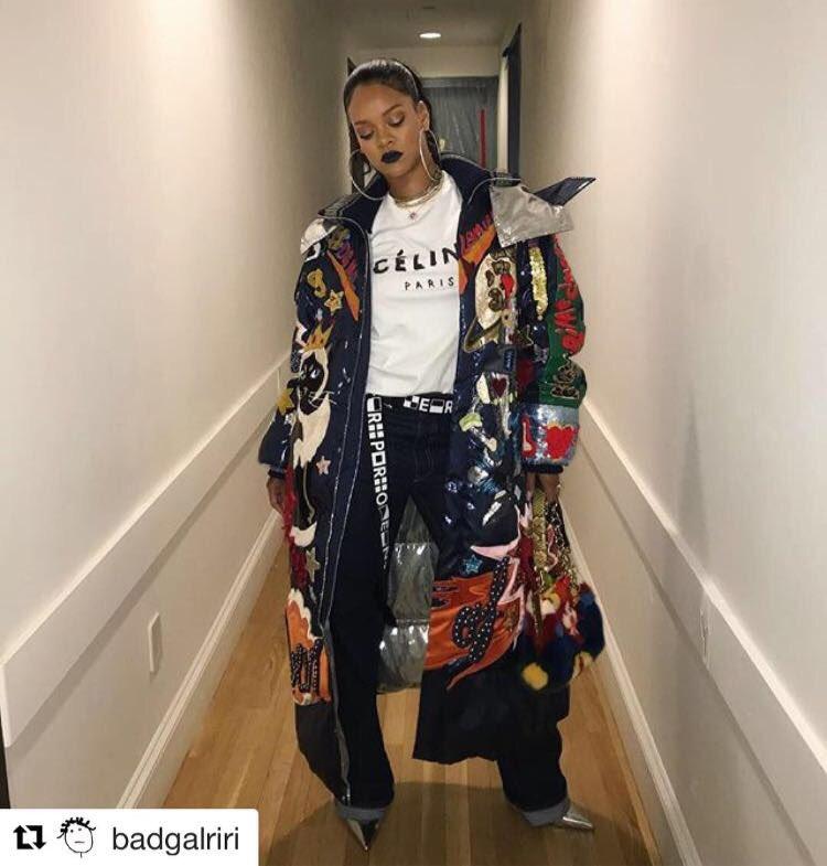 Rihanna wearing Dolce&Gabbana. #DGCelebs #DGWomen #Rihanna @rihanna https://t.co/1mFELSFHJG