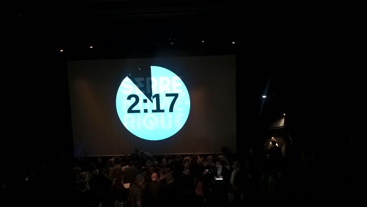 #seriousgame surprise organisé dans l'auditorium de la @serrenumerique ! Merci à Xcape pour cette animation #SEG2017 pic.twitter.com/EHFZh4qq4c