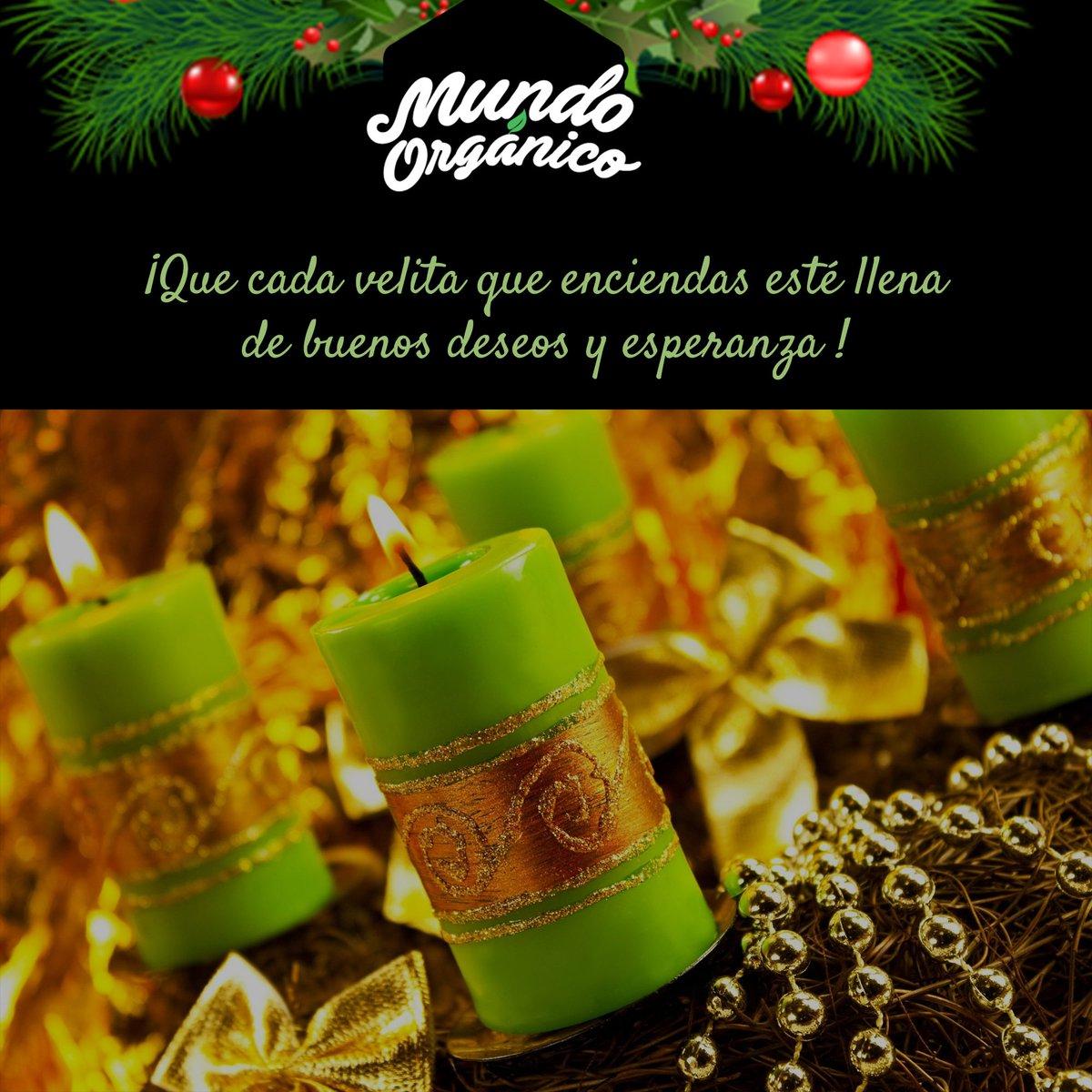 RT @MundOrganicoCol: #FelizDíaDeLasVelitas y que empiecen las celebraciones navideñas 🕯️ https://t.co/VAATbxBqsB