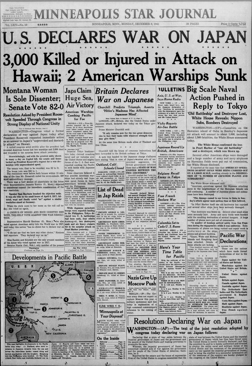 76 years ago. #PearlHarborRemembranceDay