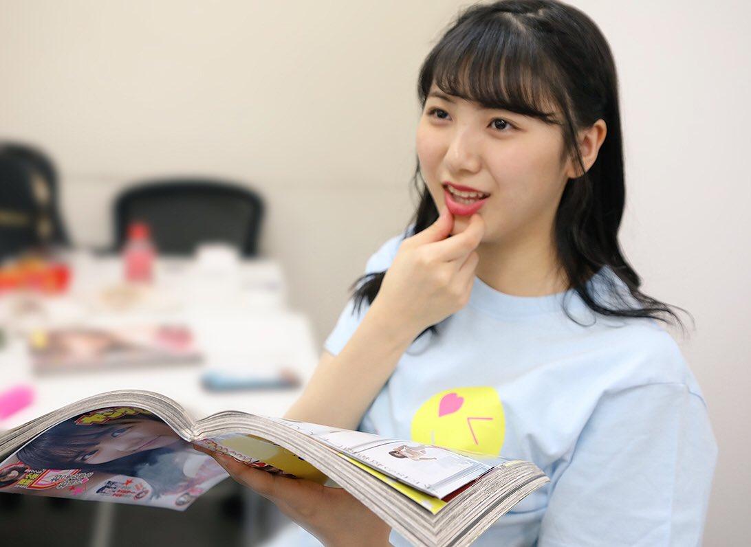 お待たせしました。  #菅原茉椰  #ヤングジャンプ さん最新号発売中。 #SKE48 #鎌田菜月 …